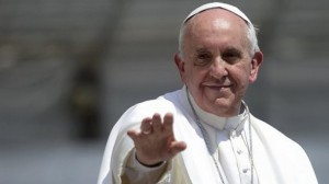 Pope pointing