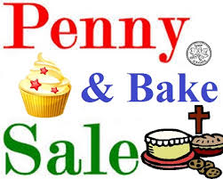 penny and bake sale